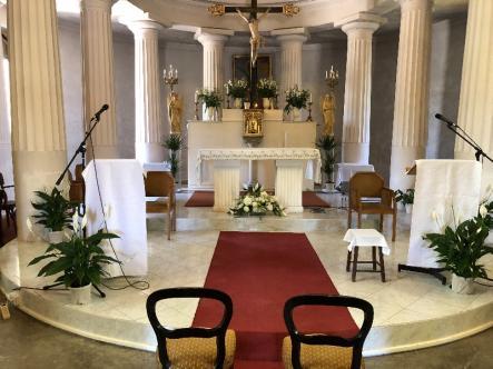 Décoration de l'église
