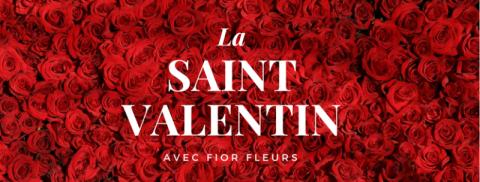 Une saint Valentin pleine d'amour avec Fior Fleurs !