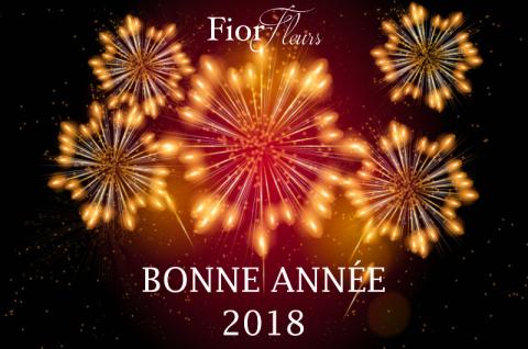 Fior Fleurs vous souhaite une bonne année 2018