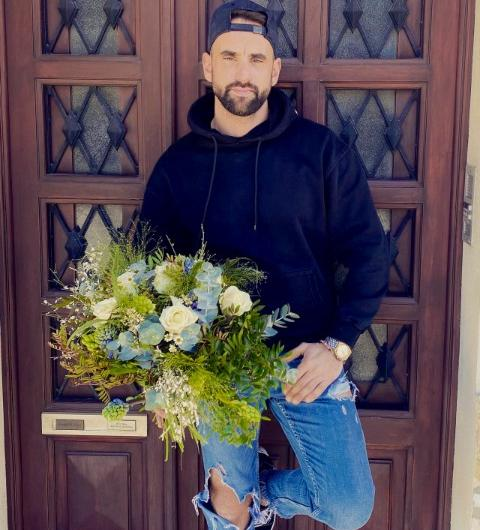 bouquet de fleurs personnalisé