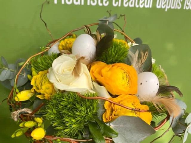 Pâques 2021 chez votre fleuriste Fior Fleurs à Saint André de la Roche