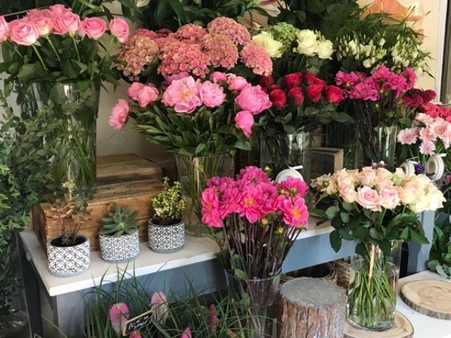 Chez Fior Fleurs la déco à changé mais pas le prix