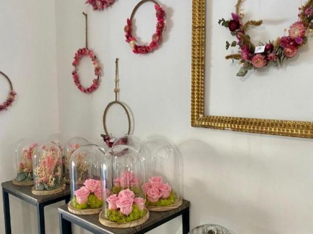 Cloches de roses