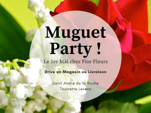 Le 1er Mai chez Fior Fleurs - Livraison ou drive à vous de choisir