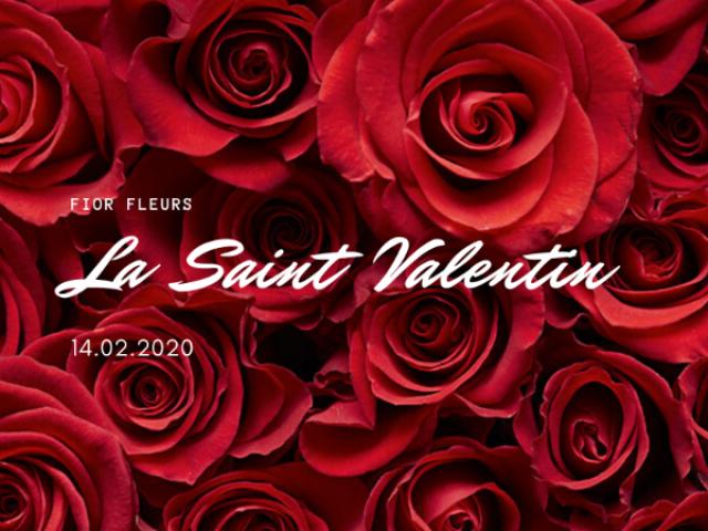 Fior Fleurs se met à l'heure de la La Saint Valentin